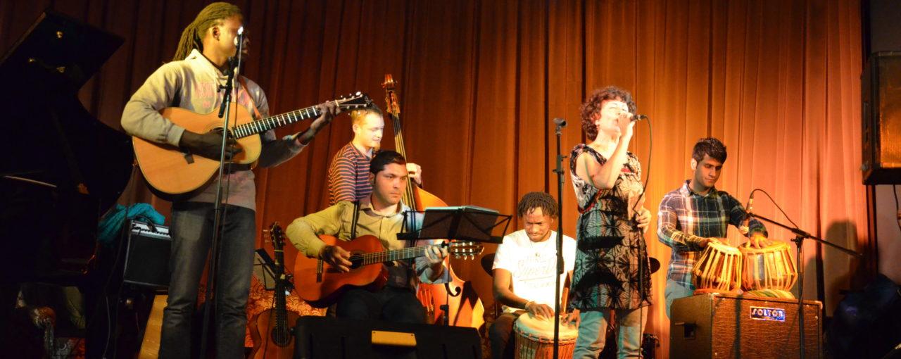 23.06.2017 - Konzert Mayada & Nordakas im interkulturellen Zentrum Heidelberg